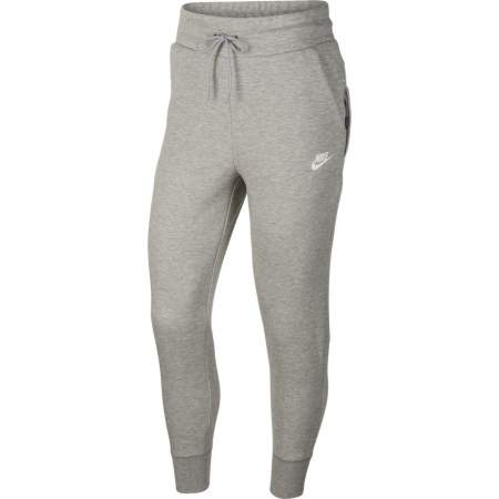 Nike NSW Tech Fleece Joggingbroek Dames Lichtgrijs