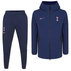 Nike Tottenham Hotspur Tech Fleece Pack Trainingspak 2020-2021 FZ Blauwpaars