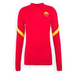 Nike AS Roma Dry Strike Trainingstrui 2020-2021 Rood