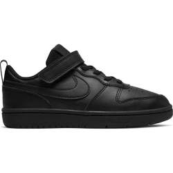 Nike Court Borough Low 2 Sneakers Klittenband Kids Zwart