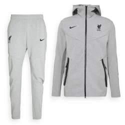 Nike Liverpool Tech Fleece Pack Trainingspak 2020-2021 Grijs